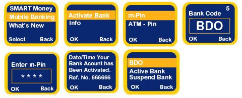 BDO-Smart SMS activate