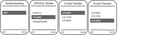 BPI-Smart SMS fund transfer 1