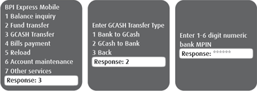 BPI-Globe USSD GCash to bank 1