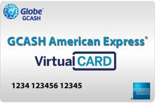 GCash American Express Virtual Pay