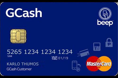 GCash beep Mastercard w/ EMV