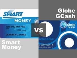 Globe GCASH vs Smart Money