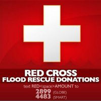Philippine Red Cross SMS donations