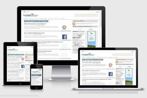 Txtbuff News responsive WordPress theme