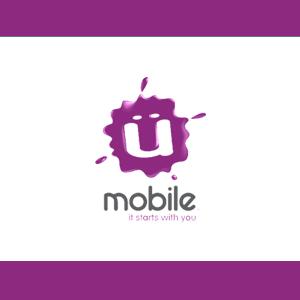 Umobile logo large