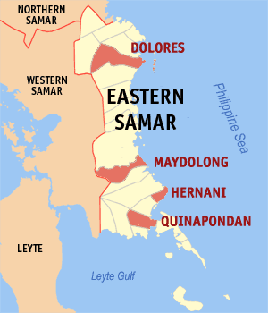 Eastern Samar tawag and charging stations